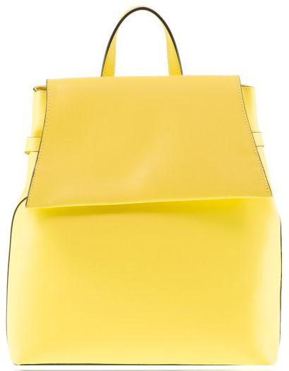 Γυναικεια Δερμάτινη Τσάντα Πλάτης Cardinali BPP8945 Κιτρινη γυναικείες τσάντες   τσάντες πλάτης