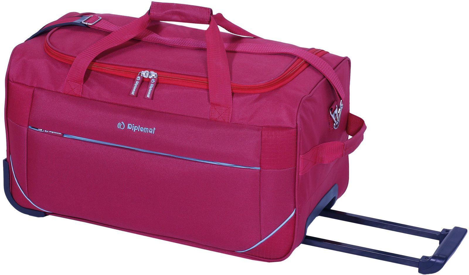 Σακ βουαγιάζ με ρόδες 70εκ Diplomat ZC 2004-70W Κόκκινο ειδη ταξιδιου   βαλίτσες   σακ βουαγιαζ   σακ βουαγιάζ τρόλευ