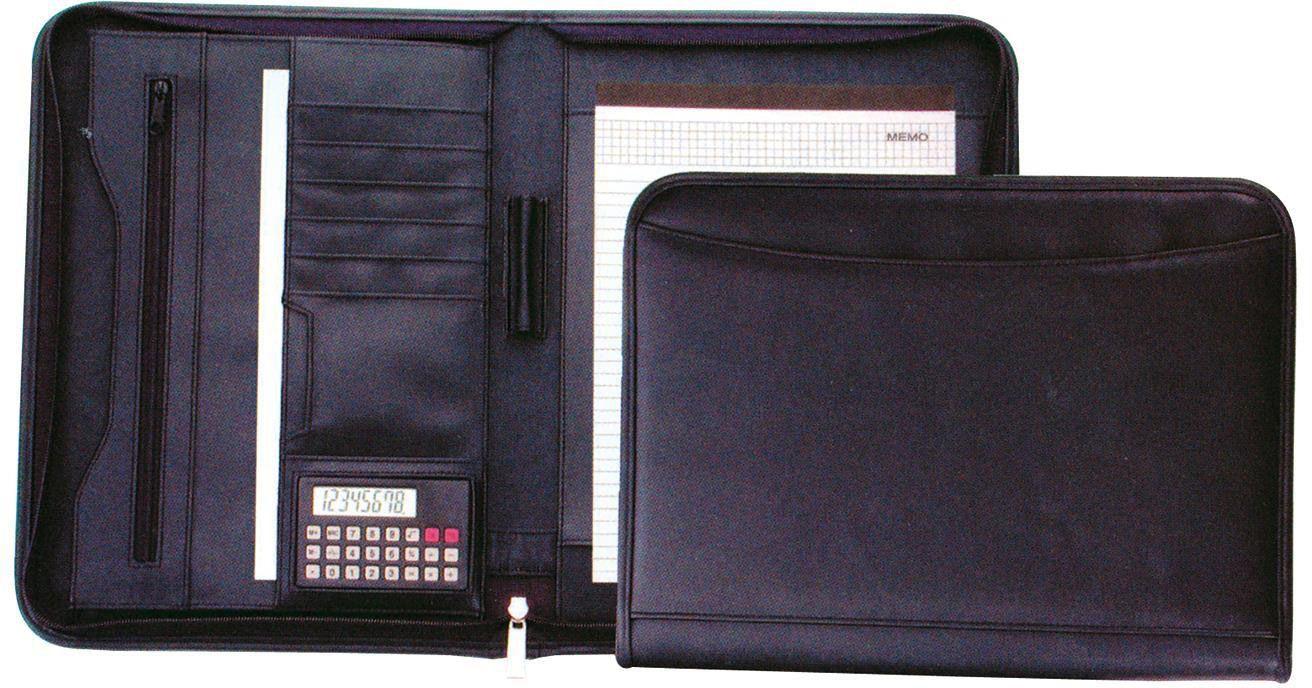 Portfolio με φερμουάρ μαύρο υ34x26x3 εκ. Fineline 19102 χαρτοφύλακες   φάκελοι συνεδρίων