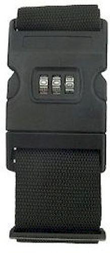 Ιμάντας Βαλίτσας Με Συνδυασμό M303 Μαύρο ειδη ταξιδιου   βαλίτσες   αξεσουαρ ταξιδιου   ασφάλεια αποσκευών