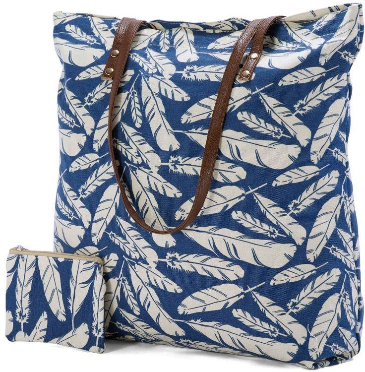Τσάντα Θαλάσσης Leaves Benzi BZ4819 πορτοφολια   αξεσουάρ   αξεσουαρ   τσάντες παραλίας