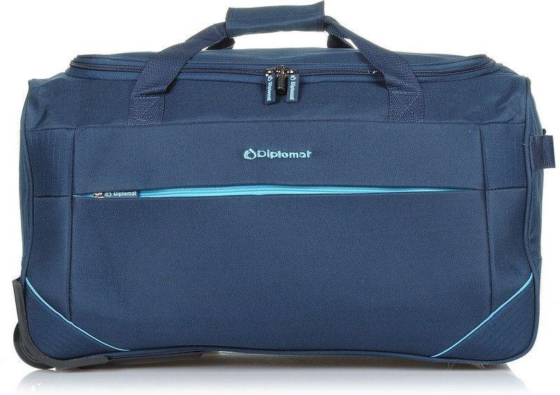 Σακ βουαγιάζ με ρόδες 70εκ Diplomat ZC 2004-70W Μπλε ειδη ταξιδιου   βαλίτσες   σακ βουαγιαζ   σακ βουαγιάζ τρόλευ
