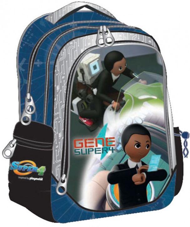 Τσαντα Δημοτικού Οβαλ Playmobil Super 4 GIM 344-00031 σχολικες τσαντες   τσάντες δημοτικού   για αγορια