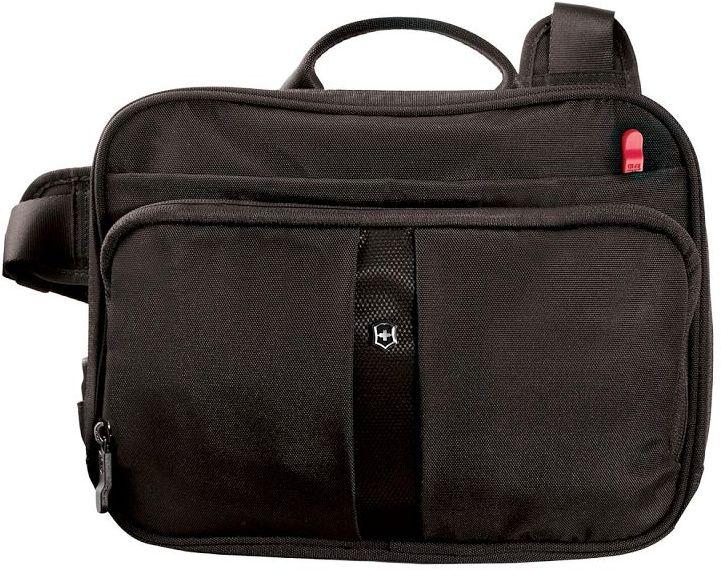 Τσάντα ώμου Travel Companion with RFID Victorinox 31173901 Μαύρο τσαντάκια   τσαντάκια ώμου