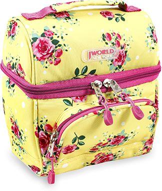 Τσαντακι Φαγητου Jworld Corey English Rose 395-00010 72 σχολικες τσαντες   τσάντες νηπιαγωγείου   για κοριτσάκια