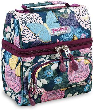 Τσαντακι Φαγητου Jworld Corey Secret Garden 395-00010 85 σχολικες τσαντες   τσάντες νηπιαγωγείου   για κοριτσάκια