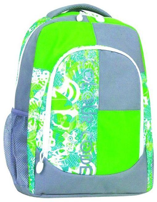Τσάντα πλάτης saddle λαχανί με 2 θήκες 45x32x15 εκ. Tiger 25777-38 σχολικες τσαντες   τσάντες δημοτικού   για αγορια