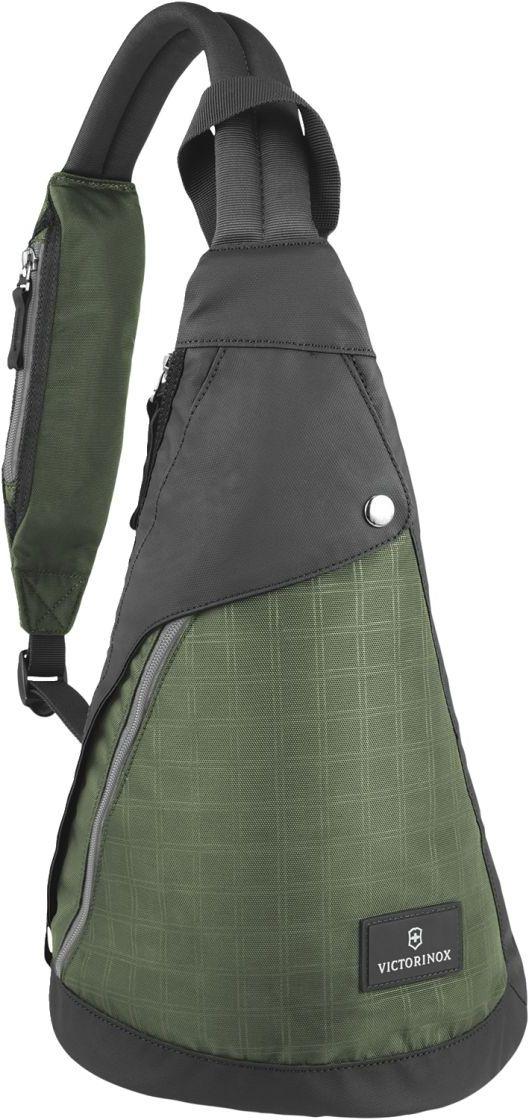 Σακίδιο πλάτης Dual Compartment Monosling Victorinox 601439 Πρασινο σακίδια   τσάντες   τσάντες πλάτης