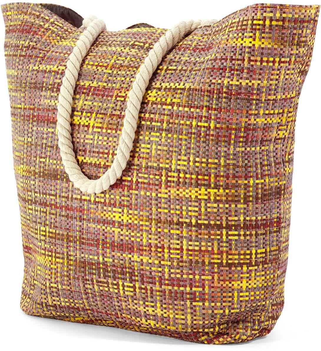 Τσαντα Θαλασσης Benzi BZ5019 Κιτρινο γυναίκα   τσάντες παραλίας