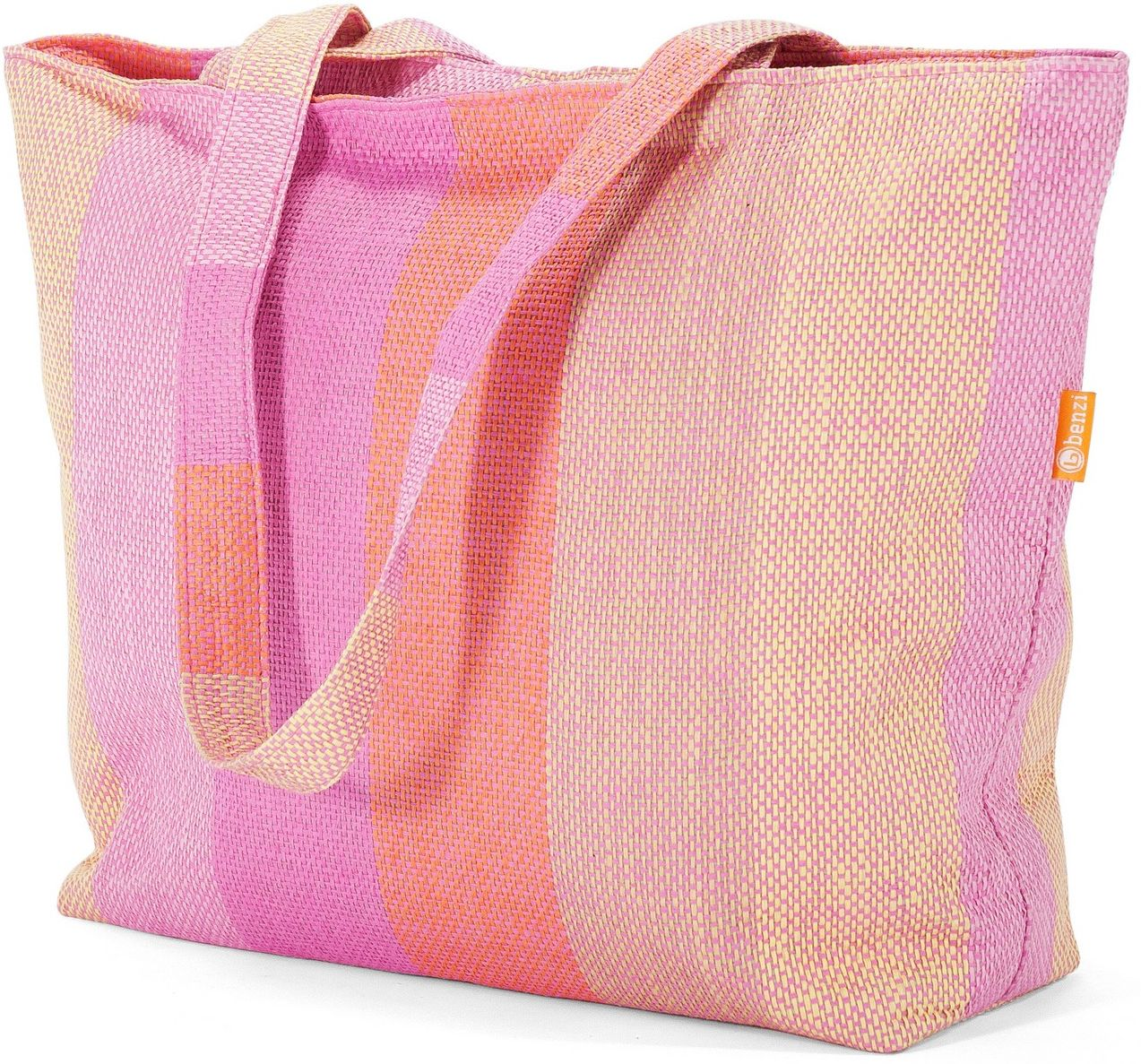 Τσαντα Παραλίας Benzi BZ5199 Ροζ γυναίκα   τσάντες παραλίας