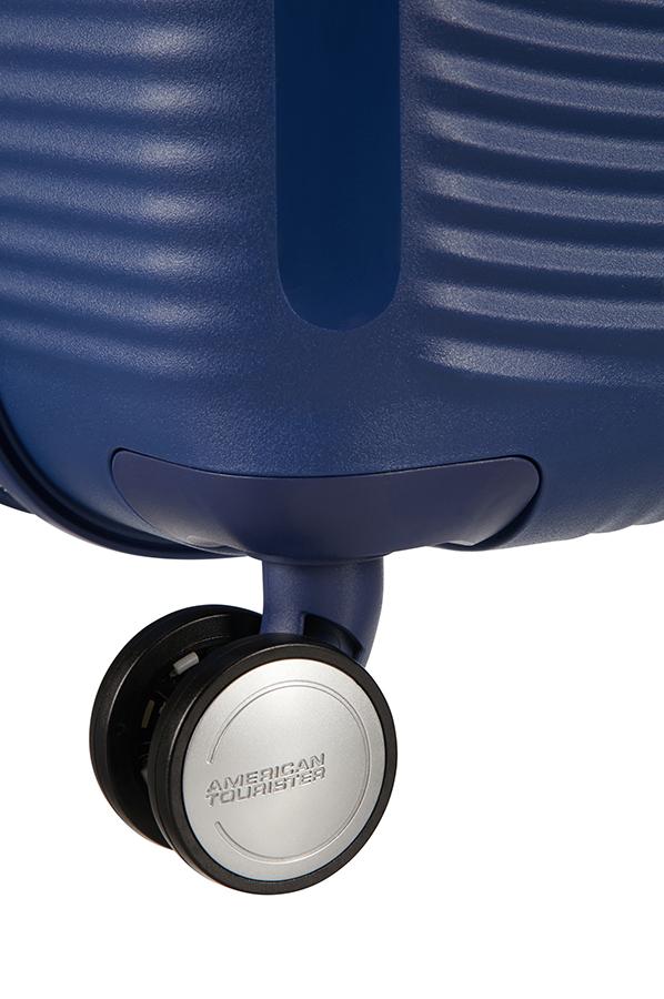 9b94260ed2 ... Χειραποσκευή 55εκ με 4 Ροδες   Επέκταση Soundbox American Tourister  88472-1552 Μπλε Σκουρο