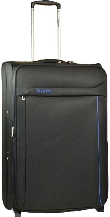 Βαλίτσα τρόλεϊ 71εκ. Diplomat ZC 6200-71 Μαυρο ειδη ταξιδιου   βαλίτσες   βαλίτσες   βαλίτσες μεγάλες