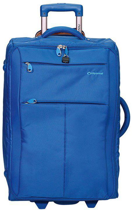 Βαλίτσα καμπίνας τρόλεϊ 48X34X19 Diplomat ZC 8004-48 Μπλε