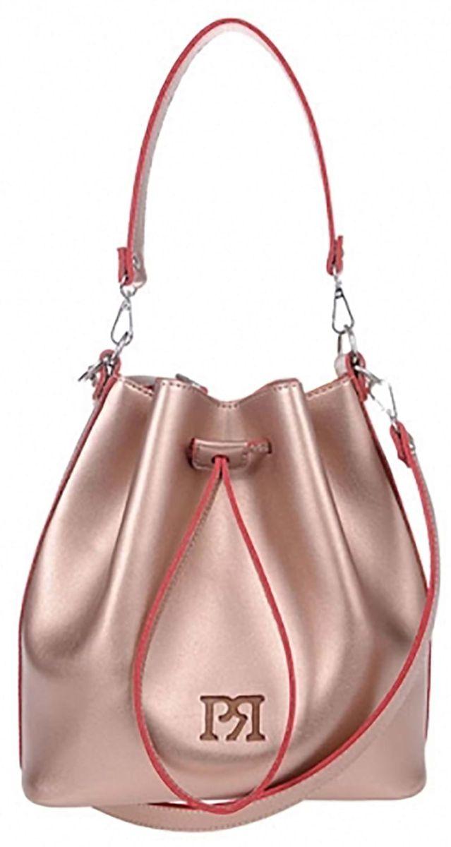 Γυναικεία τσάντα Pierro Accessories 90400EC-50 Bronze γυναικείες τσάντες   τσάντες ώμου   χειρός