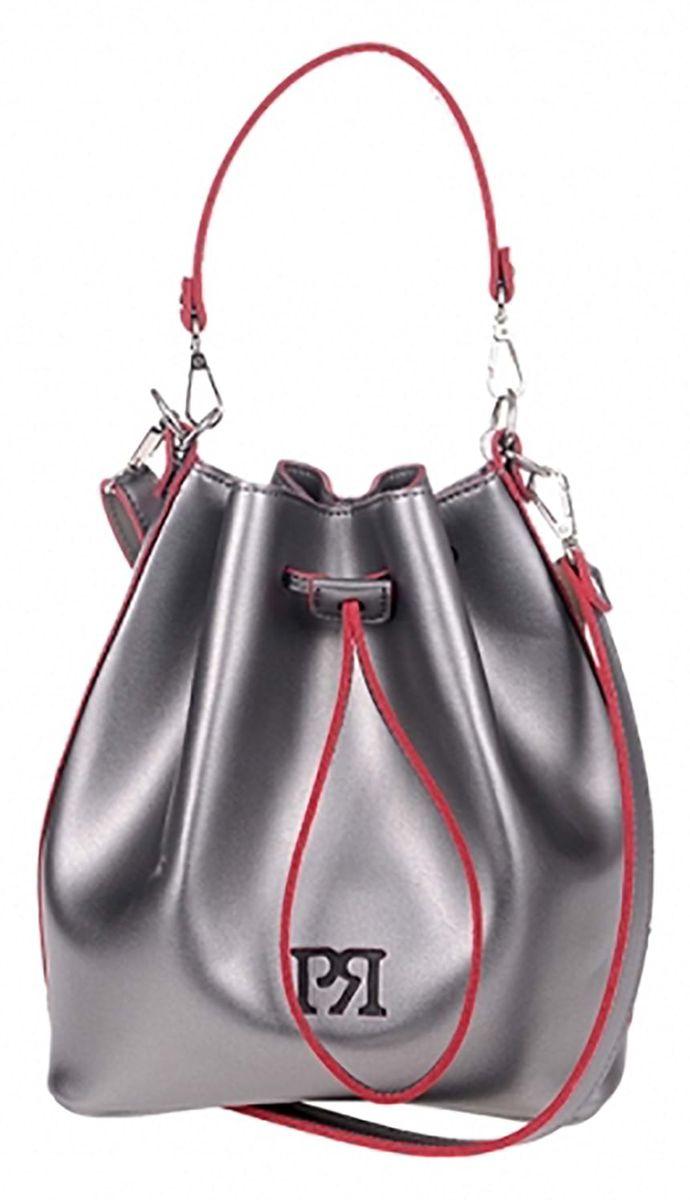 Γυναικεία τσάντα Pierro Accessories 90400EC-28 Ασημί γυναικείες τσάντες   τσάντες ώμου   χειρός