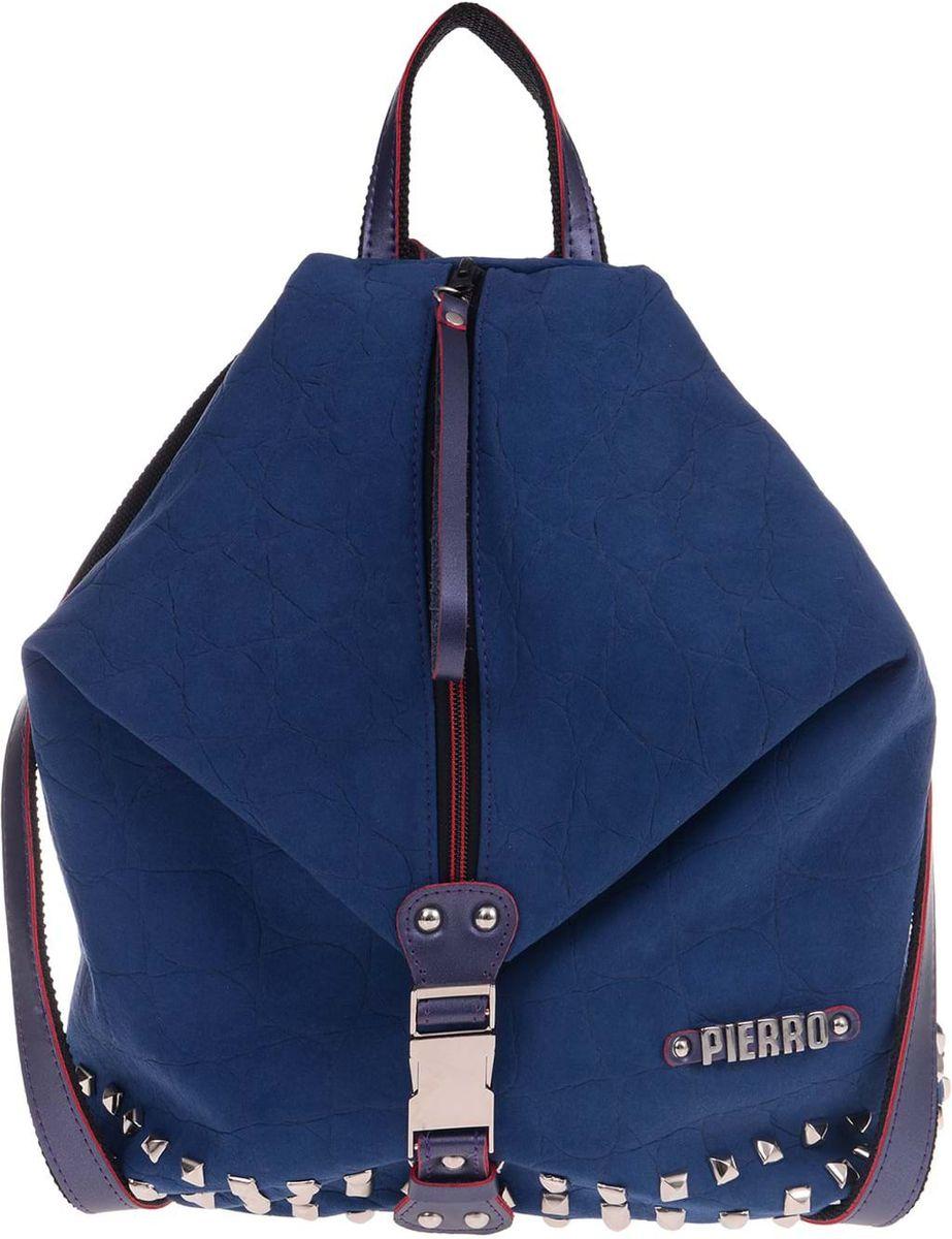 8dc62b3bf4 Γυναικείo σακίδιο πλάτης Pierro Accessories 90425KS 05 Μπλε