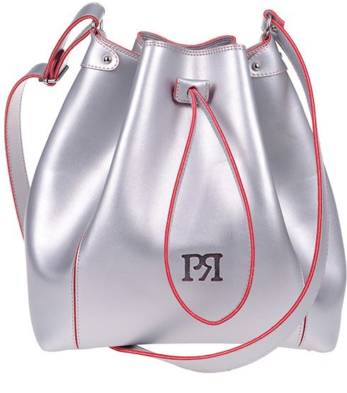 Γυναικεία τσάντα Pierro Accessories 00190EC-22 Ασημι γυναικείες τσάντες   τσάντες ώμου   χειρός