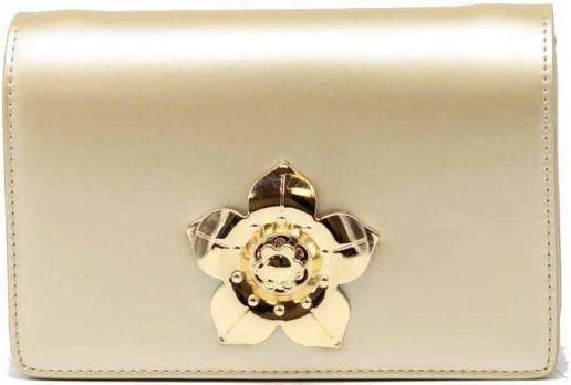 Τσαντακι Ωμου Tom & Eva 17E-1933 Χρυσό γυναικείες τσάντες   φάκελοι clutch bags