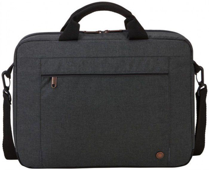 Τσάντα Ώμου Laptop 14 inch Era Attache Case Logic ERAA-114 Obsidian Μαυρο ανδρας   χαρτοφύλακες