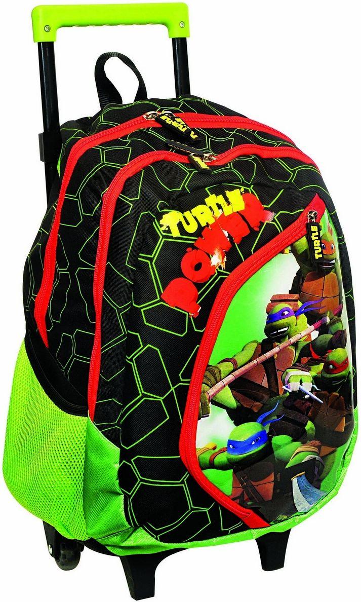 Τσαντα Δημοτικού Trolley Ninja Power Turtle Gim 334-08074 σχολικες τσαντες   τσάντες δημοτικού   για αγορια