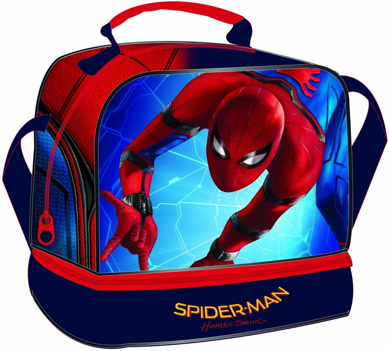 Τσαντακι Φαγητου Spiderman Homecoming Gim 337-67220 σχολικες τσαντες   τσάντες νηπιαγωγείου   για αγοράκια