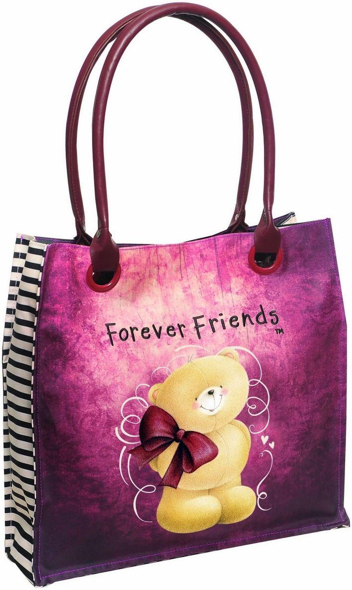 Τσαντα Ωμου Μεγάλη Forever Friends Bow BMU 333-54207 γυναίκα   shopping bags
