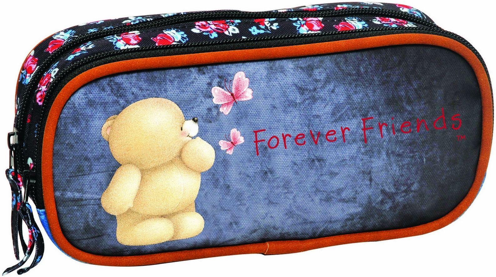 Κασετινακι Οβαλ Forever Friends Blue Line BMU 333-85144 σχολικες τσαντες   τσάντες δημοτικού   κασετίνες