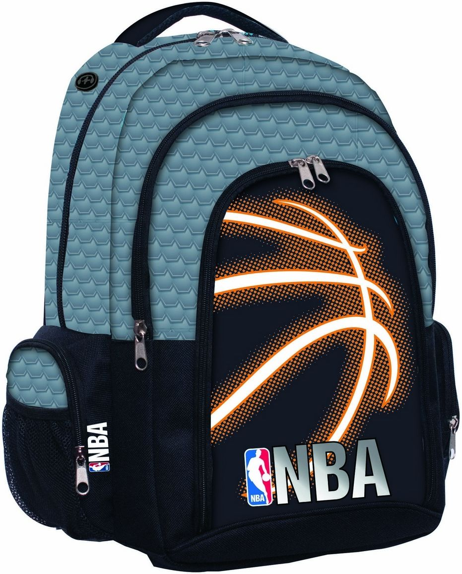 7b33a545c4 Τσαντα Δημοτικου Οβαλ NBA Neon BMU 338 79031 σχολικες τσαντες ...