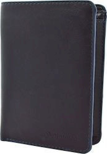 Ανδρικό Δερμάτινο Πορτοφόλι Κάθετο Diplomat MN413 Μαυρο/Μπλε πορτοφολια   αξεσουάρ   πορτοφολια   ανδρικά