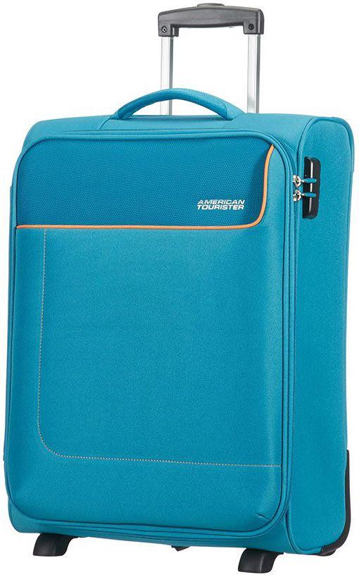 Χειραποσκευη 55εκ. Funshine American Tourister 75506-1099 Μπλε Ανοιχτό ειδη ταξιδιου   βαλίτσες   βαλίτσες   βαλίτσες καμπίνας