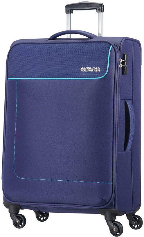 Βαλιτσα Μεσαια 66εκ. με 4 Ροδες Funshine American Tourister 75508-2610 Μπλε ειδη ταξιδιου   βαλίτσες   βαλίτσες   βαλίτσες μεσαίου μεγέθους