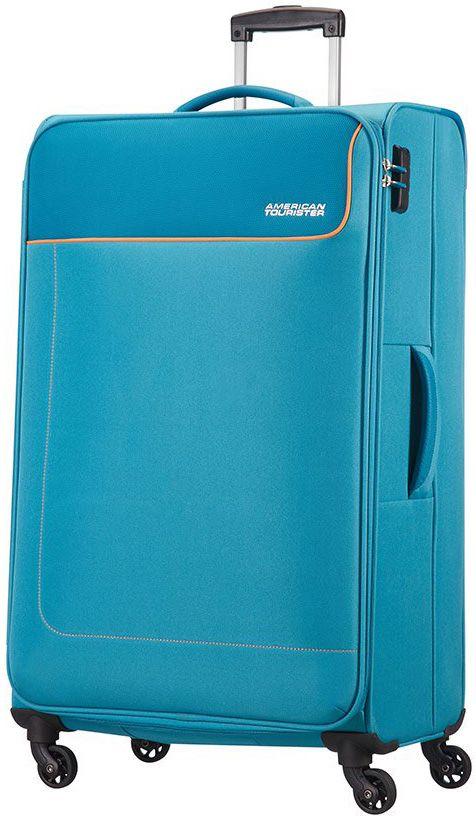 Βαλιτσα Μεγαλη 79εκ. με 4 Ροδες Funshine American Tourister 75509-1099 Μπλε Ανοι ειδη ταξιδιου   βαλίτσες   βαλίτσες   βαλίτσες μεγάλες