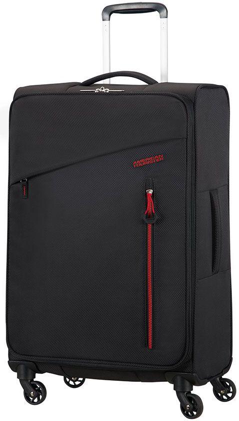 Βαλιτσα Μεγαλη 70εκ. με 4 Ροδες Litewing American Tourister 89459-0662 Μαυρο ειδη ταξιδιου   βαλίτσες   βαλίτσες   βαλίτσες μεγάλες