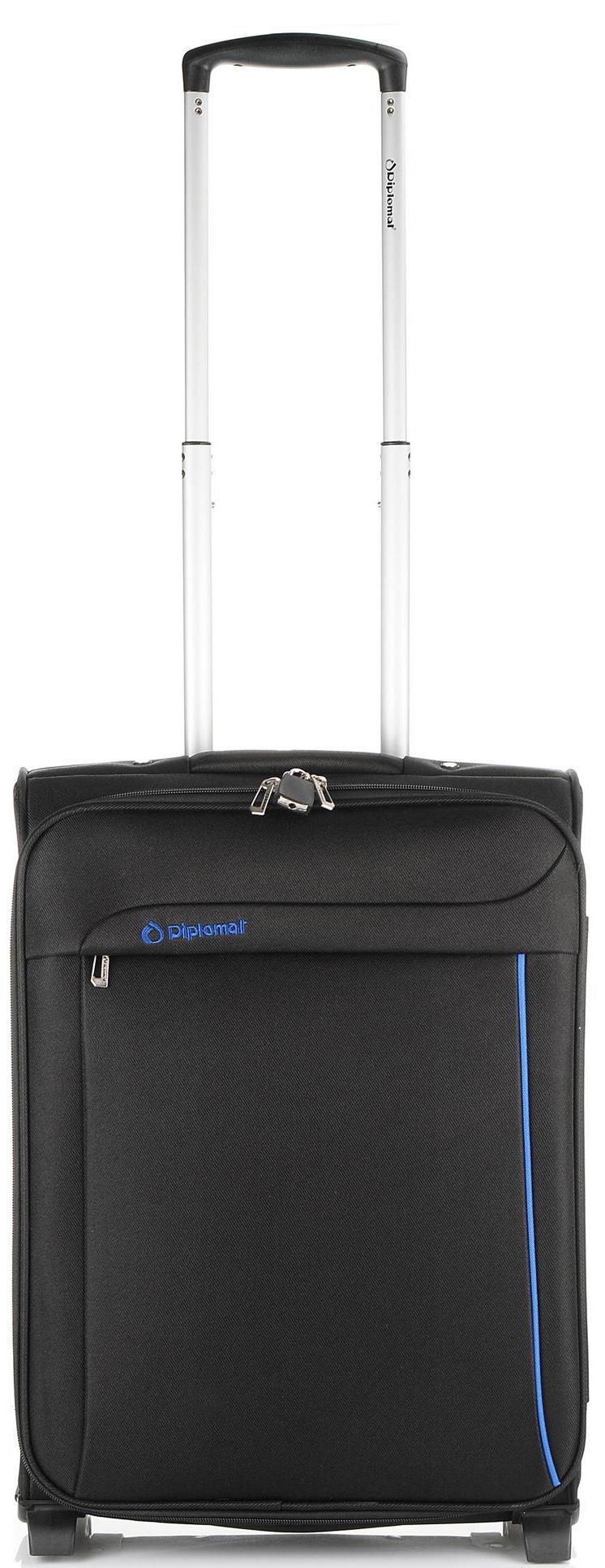 Βαλίτσα καμπίνας τρόλεϊ 51x39x21 Diplomat ZC 6200-51 Μαυρο ειδη ταξιδιου   βαλίτσες   βαλίτσες   βαλίτσες καμπίνας