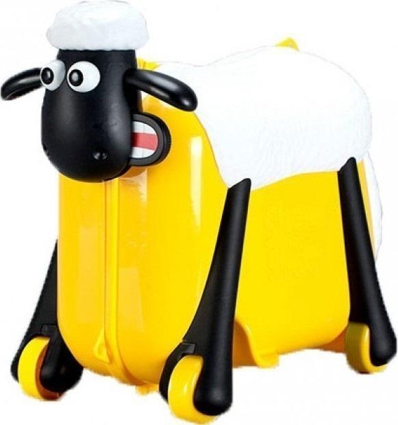 Παιδική Βαλίτσα-Περπατούρα Shaun the Sheep SC0016 Κίτρινο ειδη ταξιδιου   βαλίτσες   βαλίτσες   παιδικές βαλίτσες