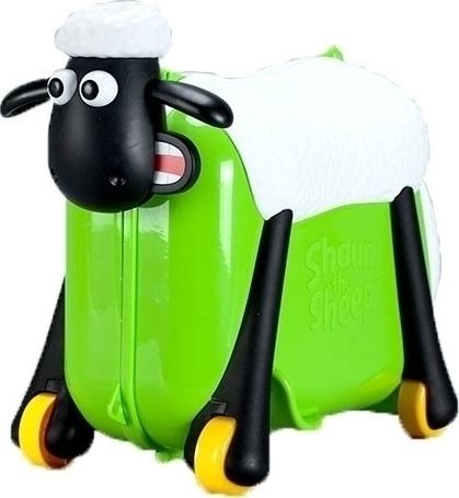 Παιδική Βαλίτσα-Περπατούρα Shaun the Sheep SC0017 Πράσινο ειδη ταξιδιου   βαλίτσες   βαλίτσες   παιδικές βαλίτσες