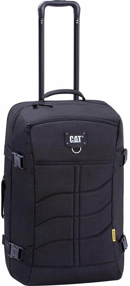 Σακ Βουαγιαζ με Ροδες Caterpillar 83429 Μαύρο ειδη ταξιδιου   βαλίτσες   σακ βουαγιαζ   σακ βουαγιάζ τρόλευ