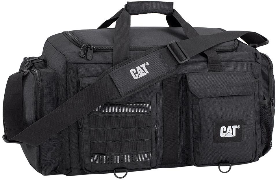 Σακος Ταξιδιου 49cm Caterpillar 83396 Μαύρο ειδη ταξιδιου   βαλίτσες   σακ βουαγιαζ   σακ βουαγιάζ