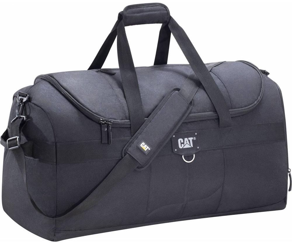 Σακ Βουαγιαζ Duffel 68cm Caterpillar 83528 Μαύρο ειδη ταξιδιου   βαλίτσες   σακ βουαγιαζ   σακ βουαγιάζ
