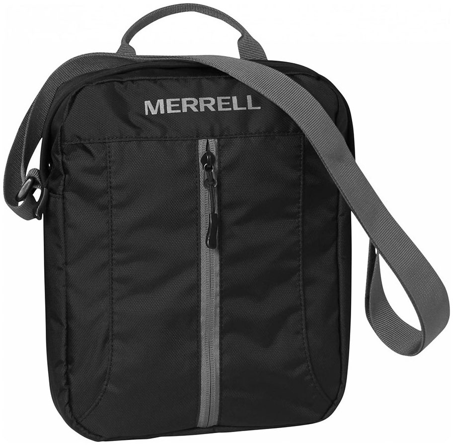 Τσαντακι Ωμου με Θήκη Tablet Merrell 23627 Μαύρο ανδρας   τσαντάκια