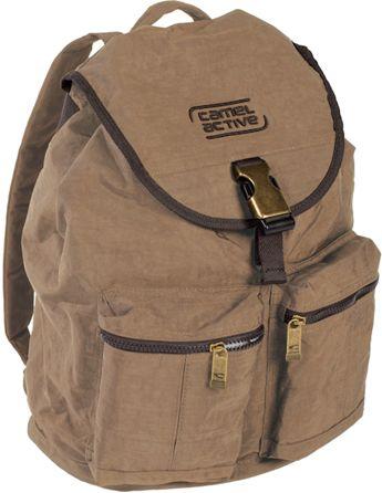 Σακιδιο Πλατης Journey Μπεζ Camel Active B00-216-25 σακίδια   τσάντες   τσάντες πλάτης