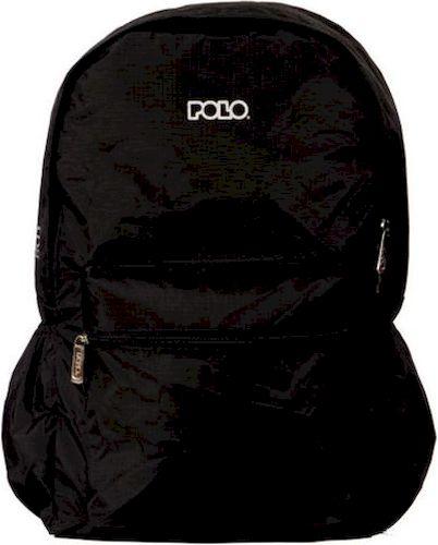 Σακίδιο Πλατης 20lt JUST IN CASE POLO 9-01-010-02 Μαύρο σακίδια   τσάντες   τσάντες πλάτης