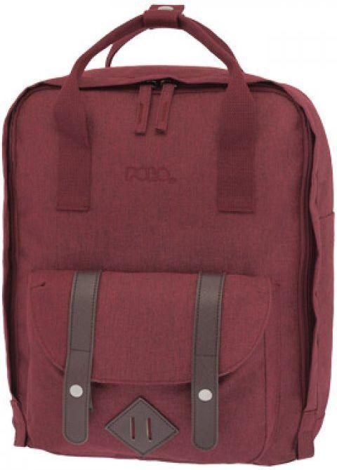 Σακίδιο NO RULES POLO 9-07-142-30 Κόκκινο σακίδια   τσάντες   τσάντες πλάτης