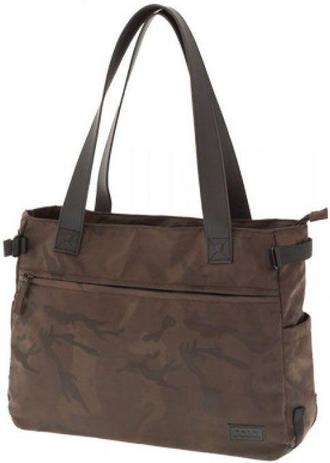 Τσάντα Shopping Military Lady 9-07-154-36 Καφε γυναίκα   shopping bags