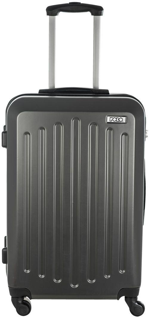 Βαλίτσα 60lt με 4 Ροδες POLO 9-09-047-09 Μαύρο ειδη ταξιδιου   βαλίτσες   βαλίτσες   βαλίτσες μεσαίου μεγέθους