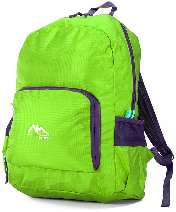 Τσάντα Πλάτης Αναδιπλούμενη Benzi BZ5091 Λαχανι σακίδια   τσάντες   τσάντες πλάτης