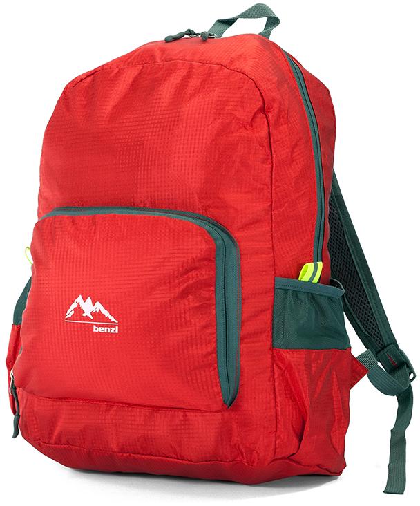 Τσάντα Πλάτης Αναδιπλούμενη Benzi BZ5091 Κόκκινο σακίδια   τσάντες   τσάντες πλάτης