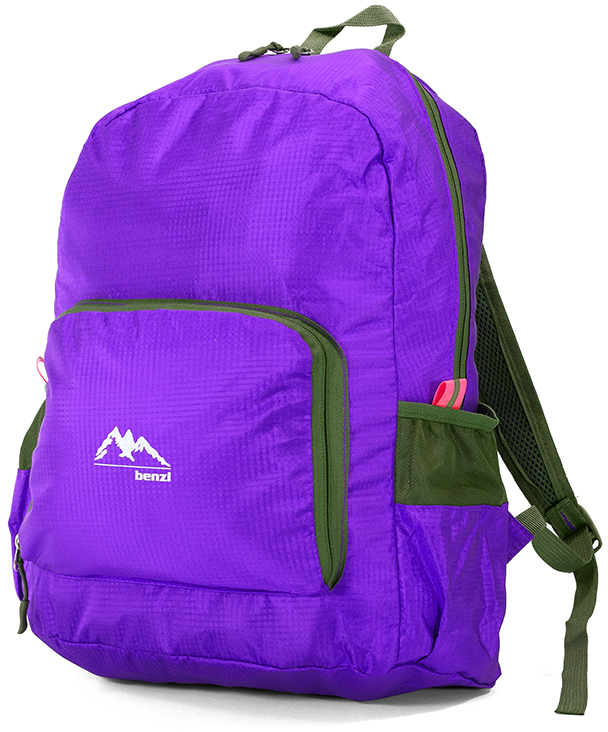 2560998fd2 Bagz Τσάντα Πλάτης Αναδιπλούμενη Benzi BZ5091 Μωβ