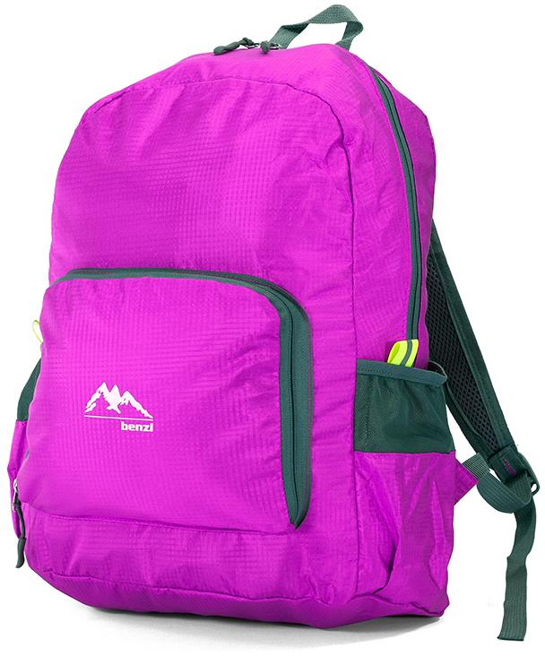 Τσάντα Πλάτης Αναδιπλούμενη Benzi BZ5091 Ροζ σακίδια   τσάντες   τσάντες πλάτης