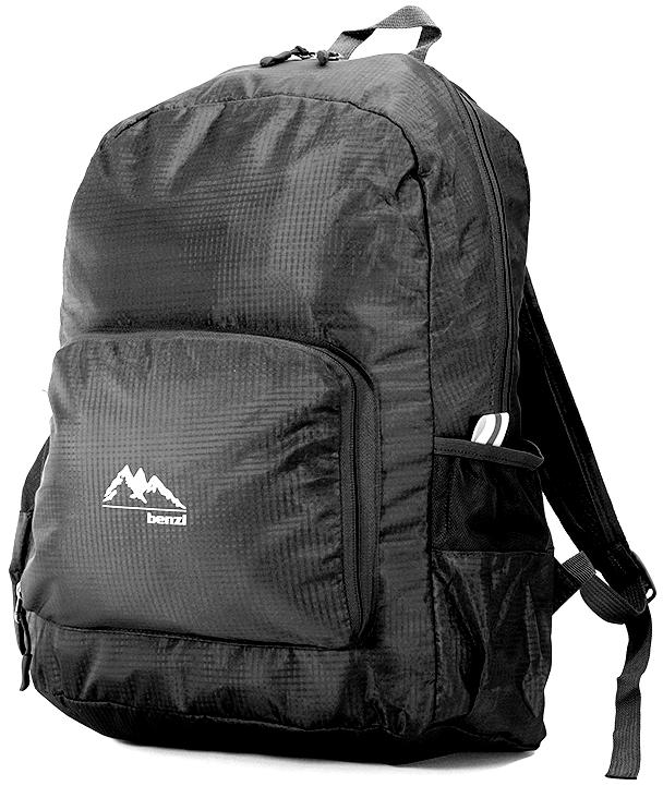 Τσάντα Πλάτης Αναδιπλούμενη Benzi BZ5091 Μαύρο σακίδια   τσάντες   τσάντες πλάτης